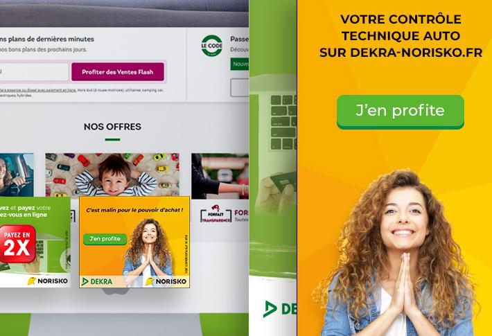 Exemple Bannière Dekra