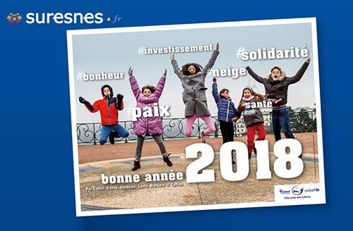 Exemple Vœux ville de Suresnes