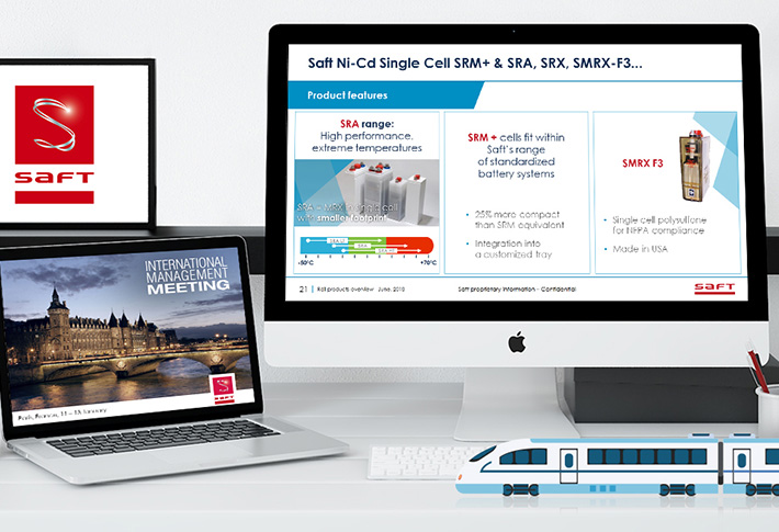 Exemple présentation PowerPoint SAFT