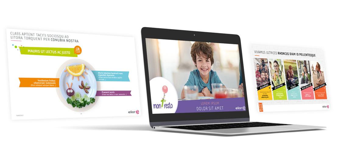 Projet de présentation interactive PowerPoint pour ELIOR