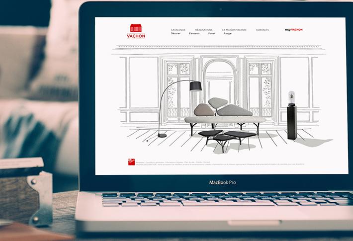 Exemple Site web Vachon
