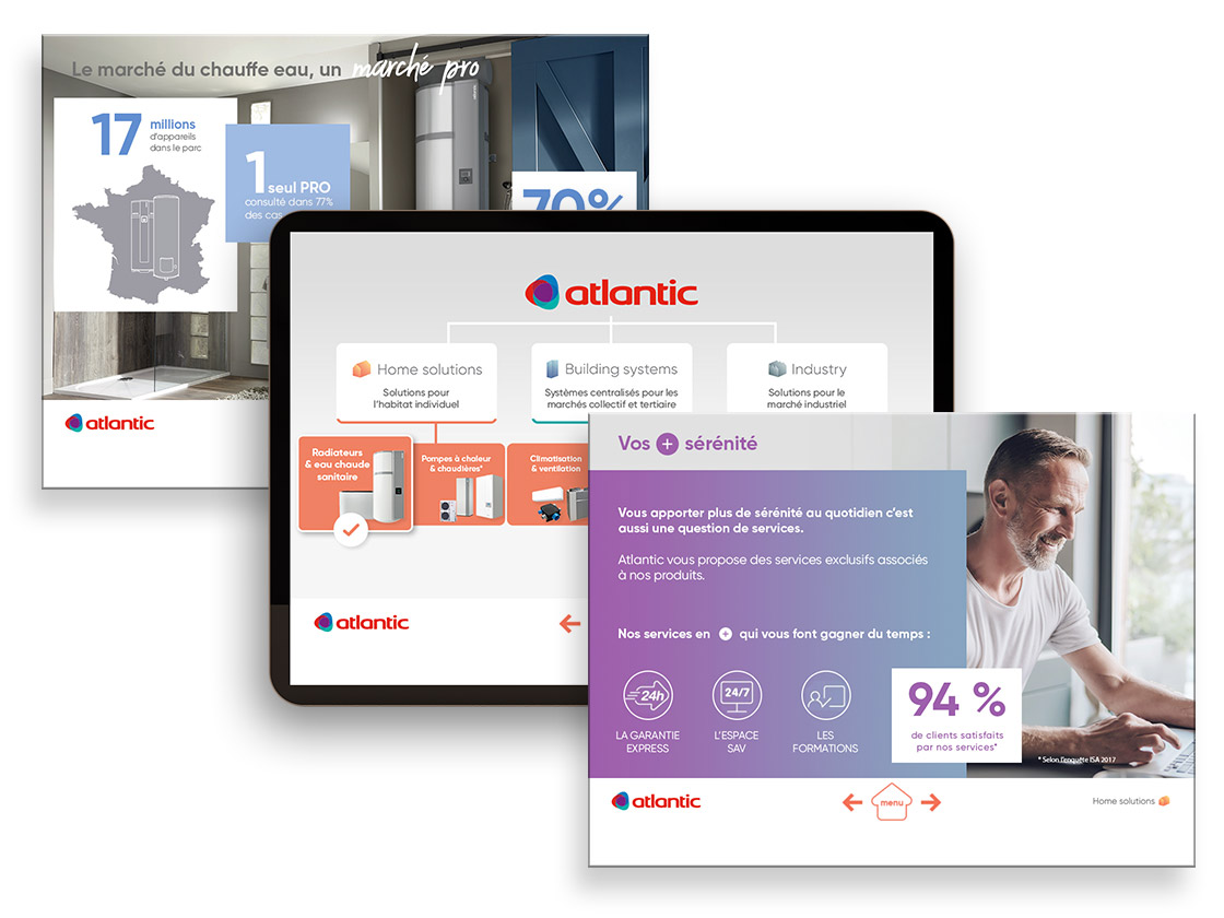 Visite Prospects Salesapps ATLANTIC
