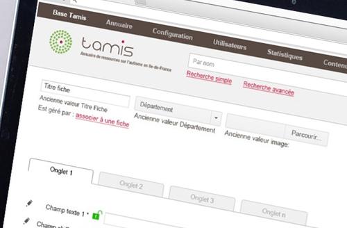 Exemple site web Tamis