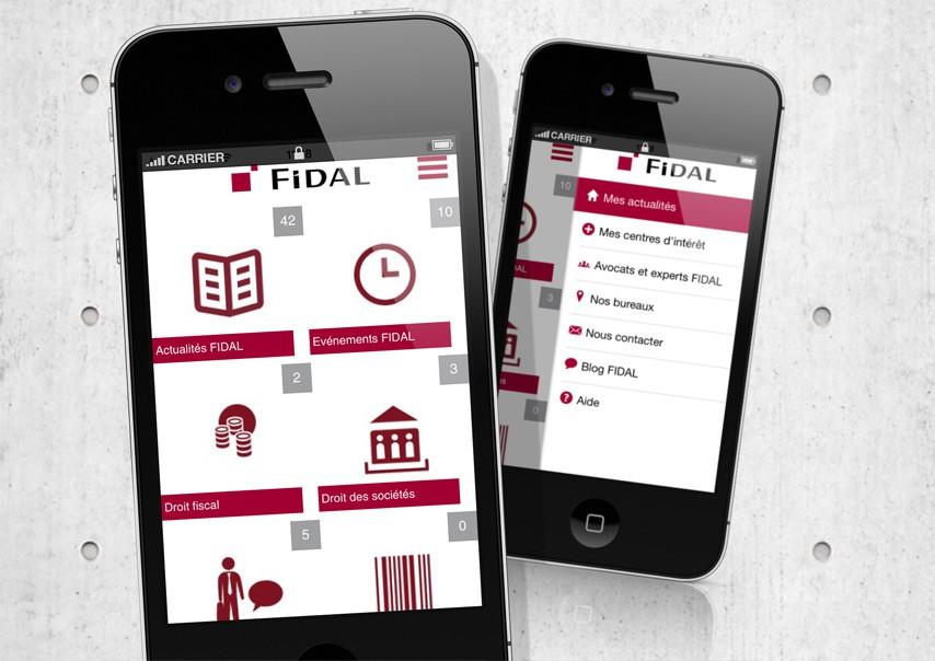 Exemple projet application FIDAL