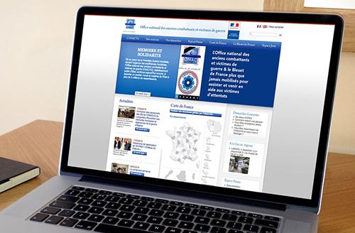 Exemple site internet ONAC