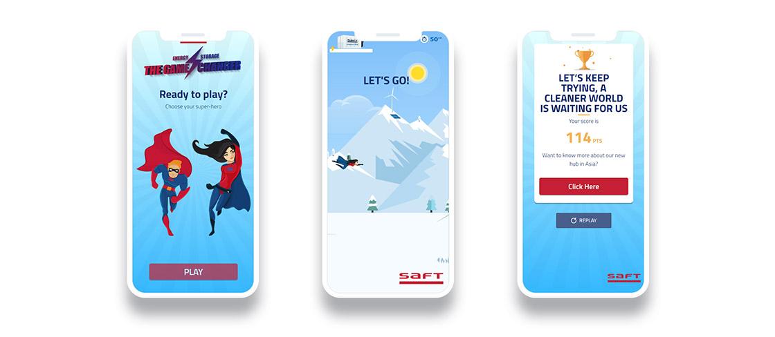 Version mobile jeu Saft
