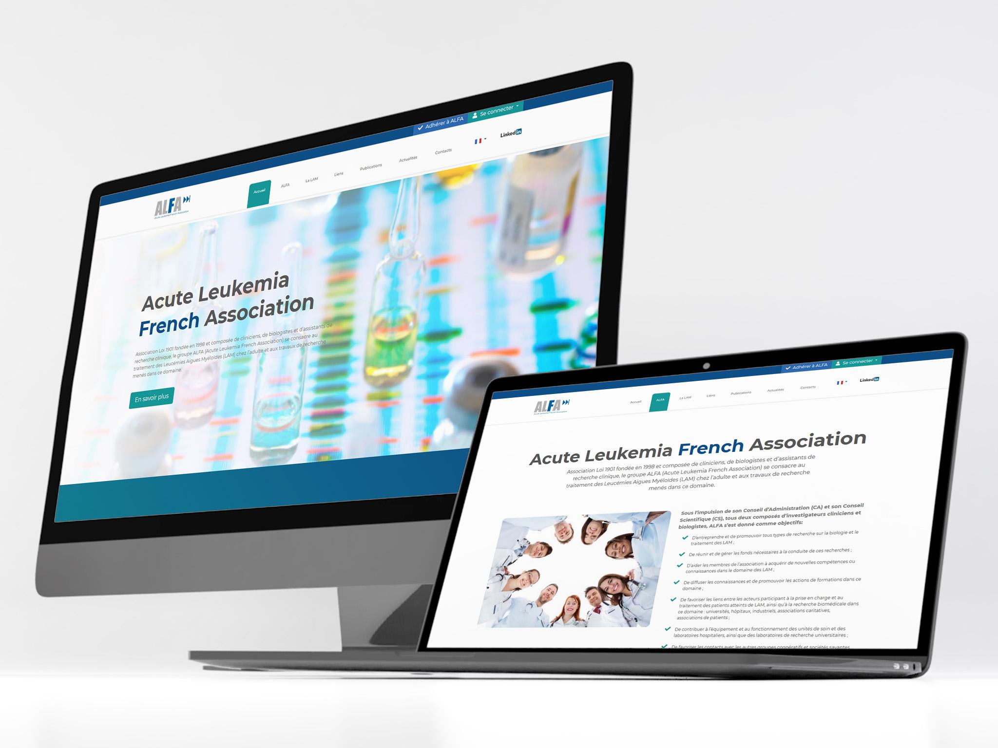 Projet de Site web pour Alfa