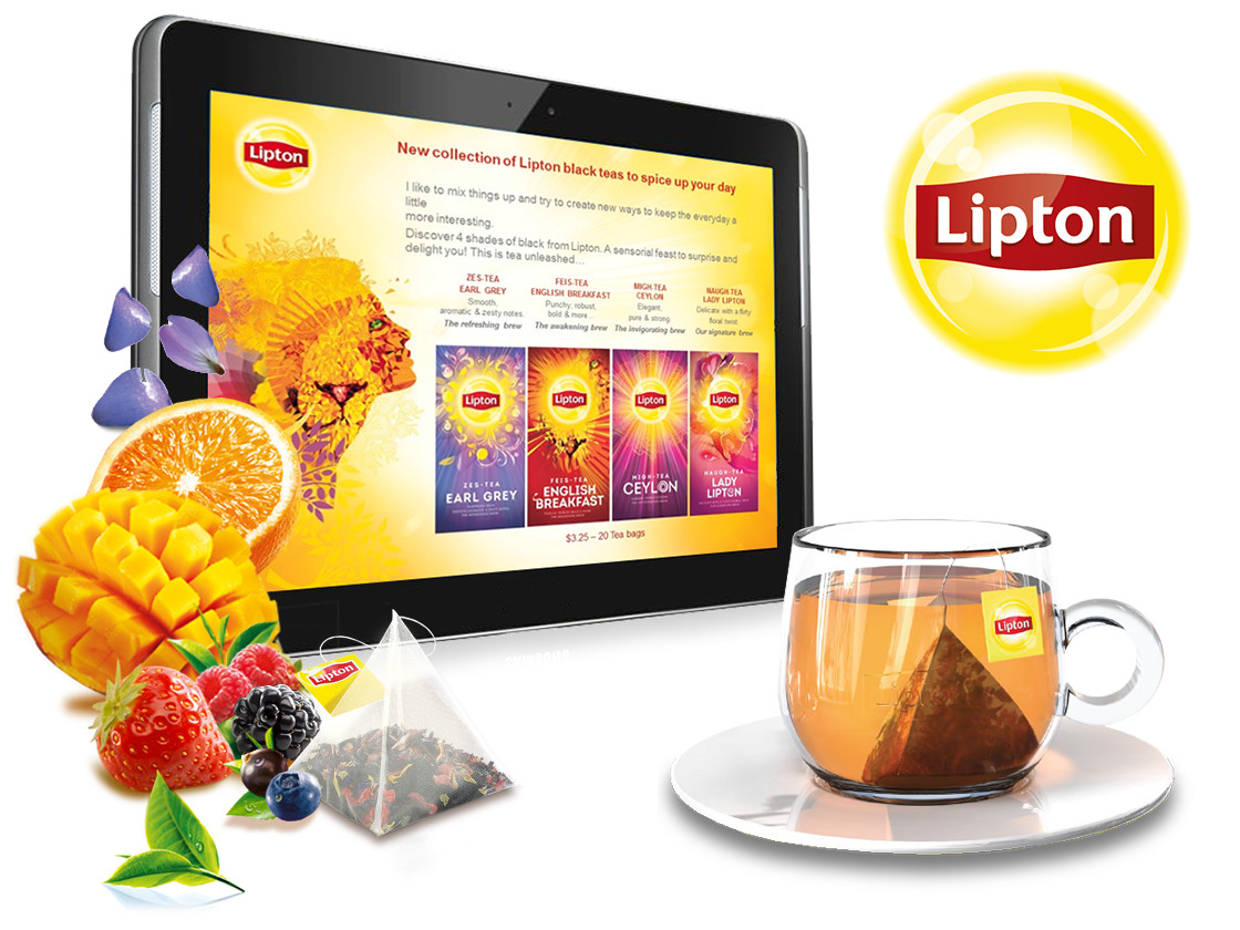Visuel présentation Lipton