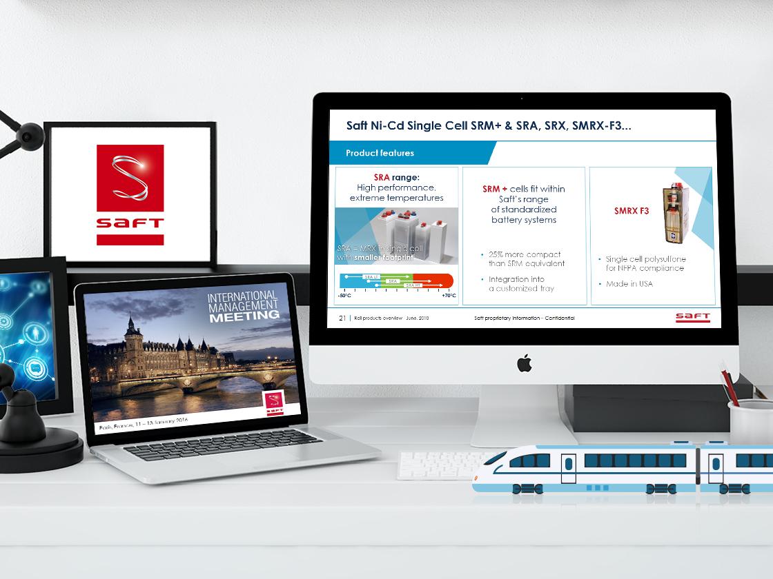 Projet présentations powerpoint SAFT