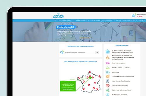 Exemple Site Autisme Info Service