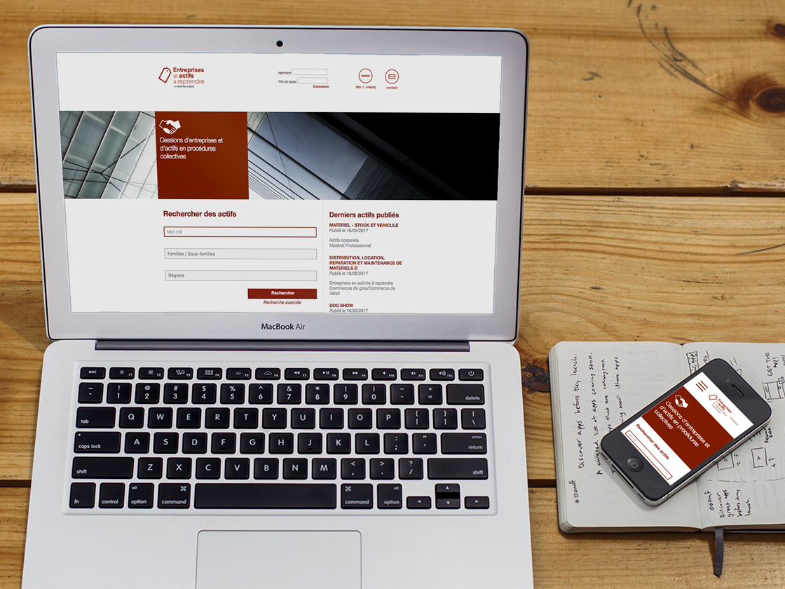 Projet création du site web CNAJMJ