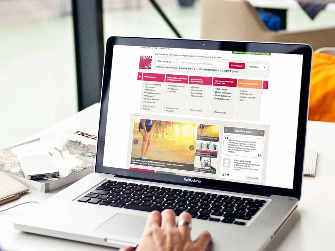 Projet de refonte du site internet Vidal