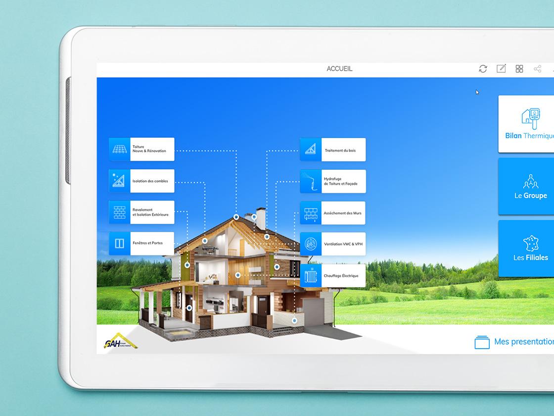 application gah expert rénovation
