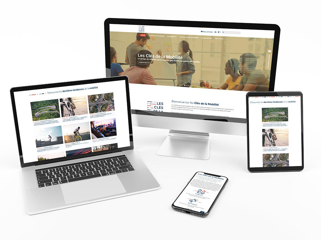 Projet site internet Athlon les clés de la mobilité
