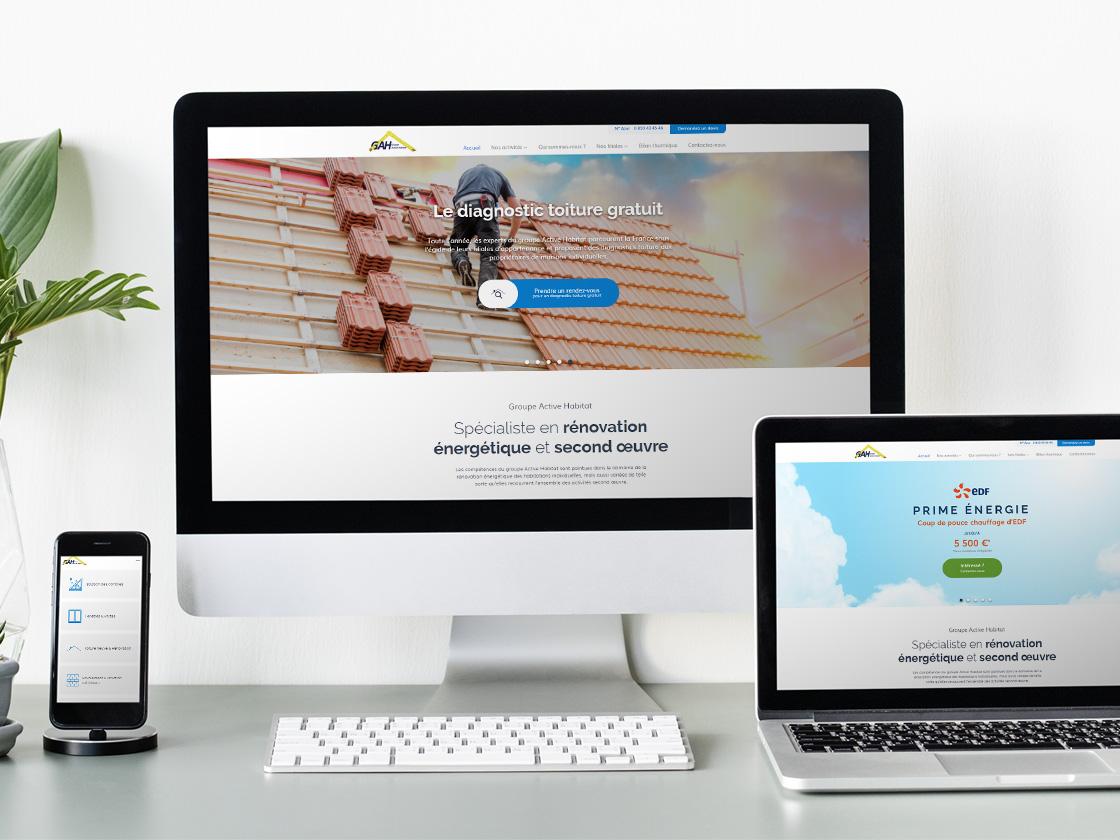 Site Internet Groupe Active Habitat