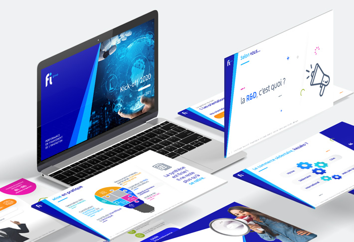 Exemple présentation PowerPoint Fi Group