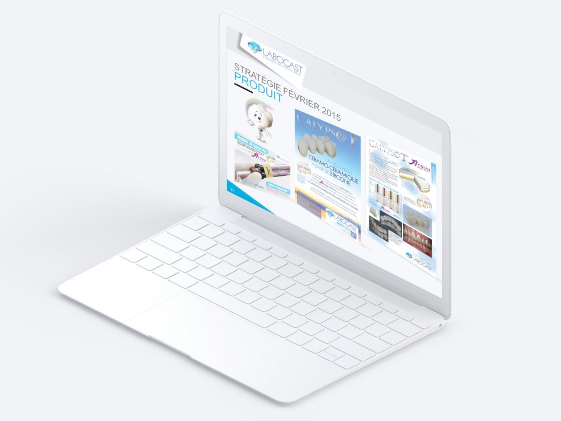 Projet de présentation PowerPoint pour LABOCAST