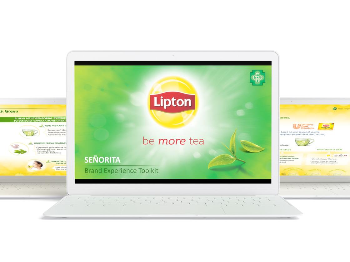 Projet de présentation PowerPoint pour LIPTON
