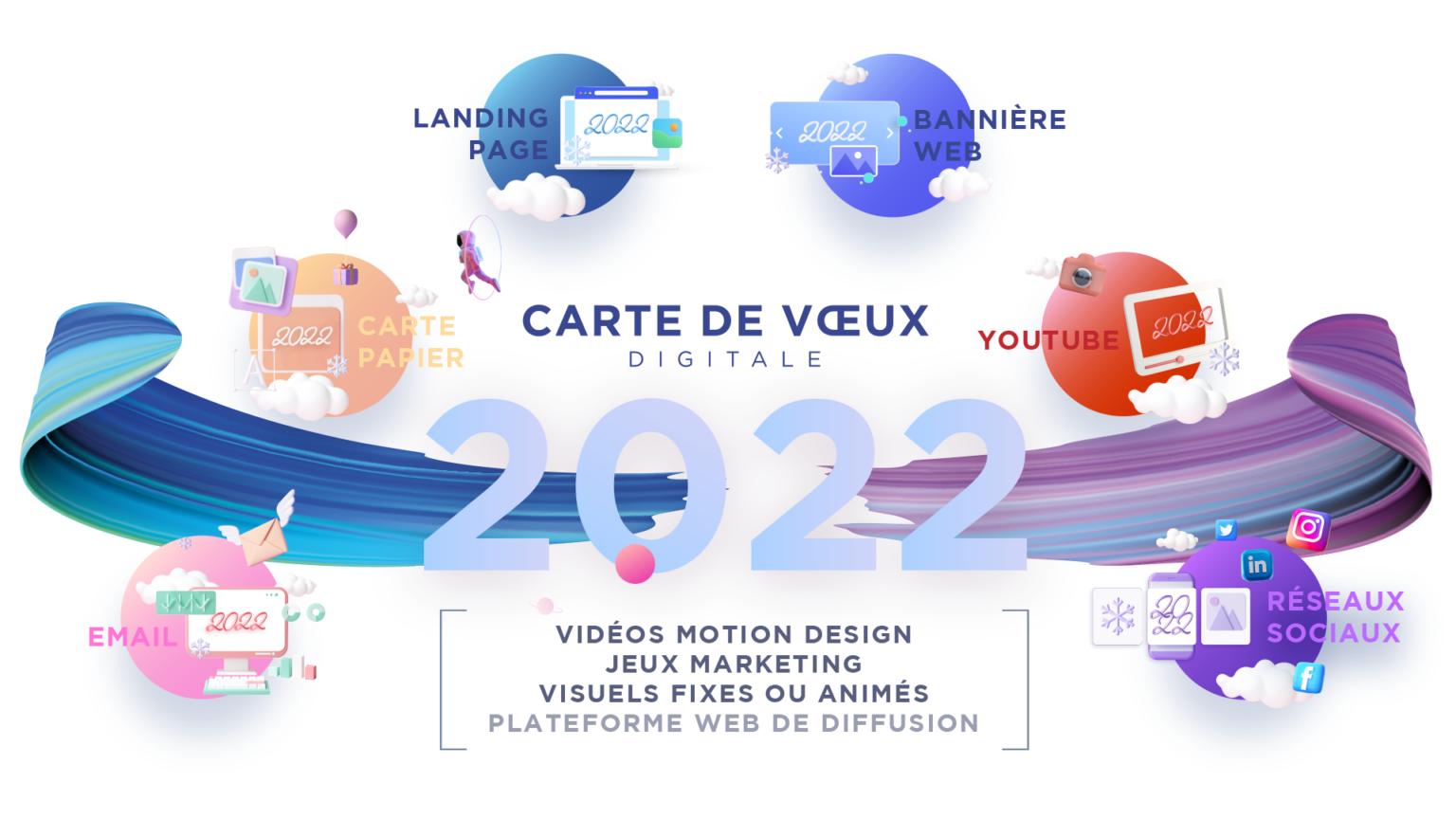 carte de vœux 2022