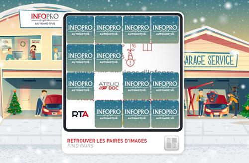Carte de vœux 2019 Infopro