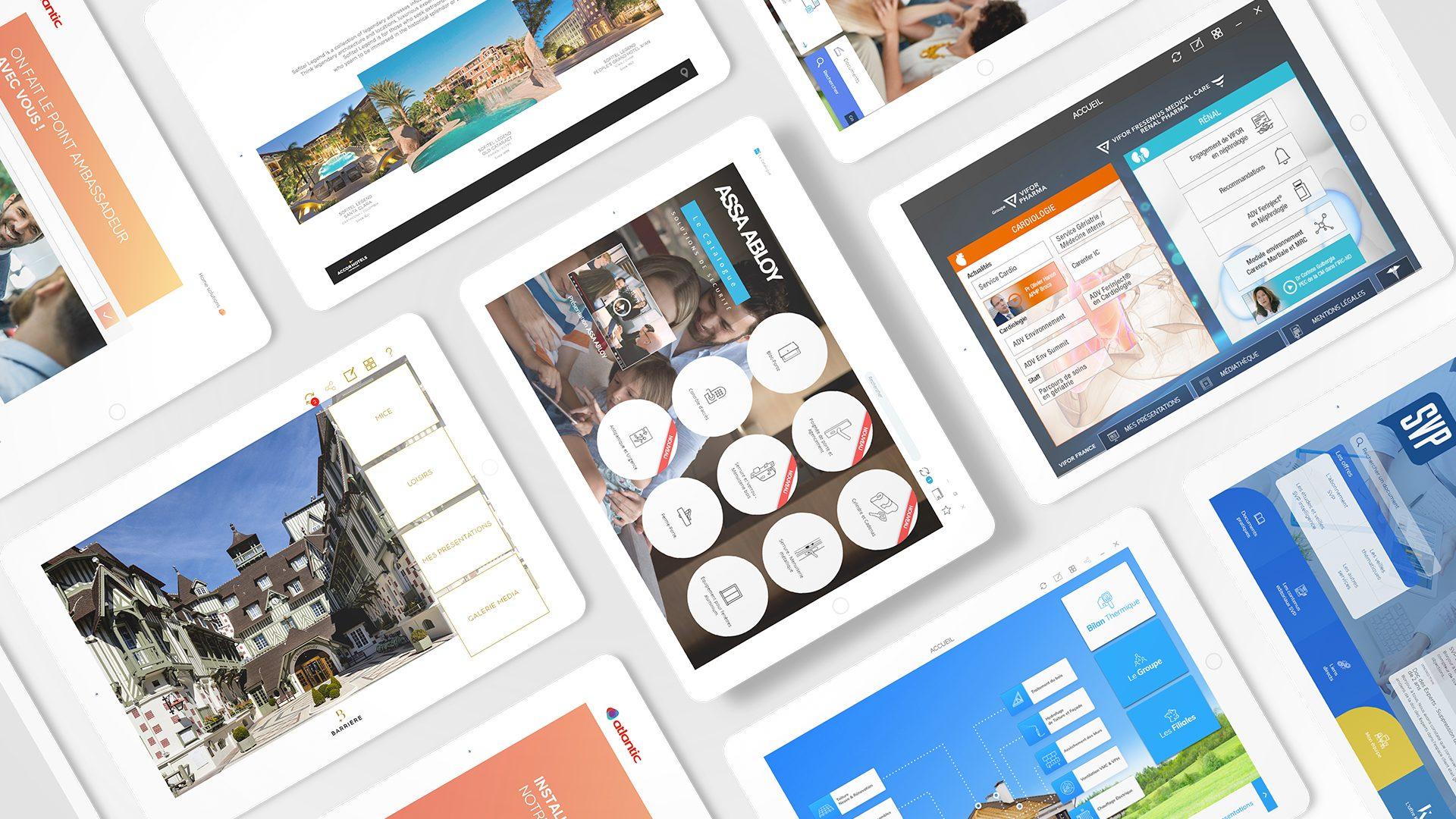 Réalisations applications digitale